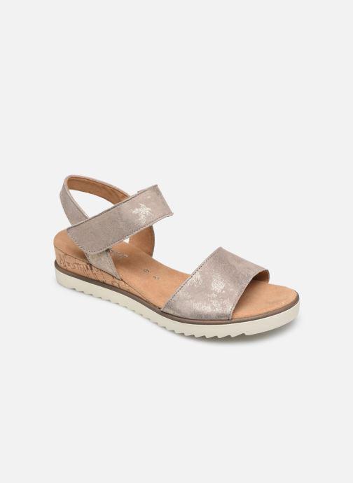 Sandales et nu-pieds Gabor NOUR Gris vue détail/paire