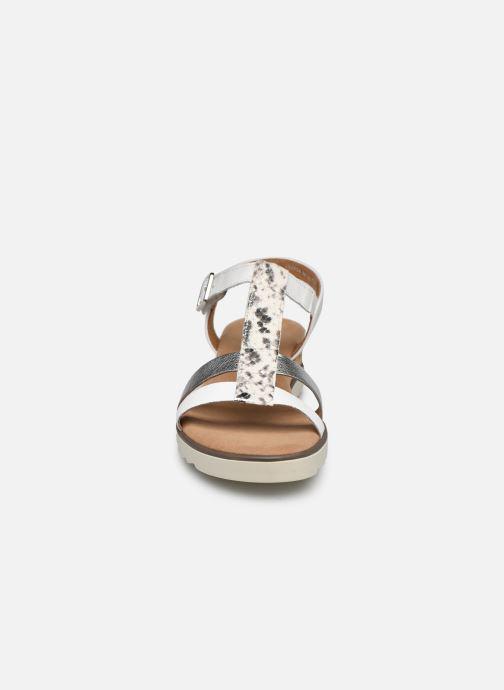 Sandalen Gabor SHIRAZE weiß schuhe getragen