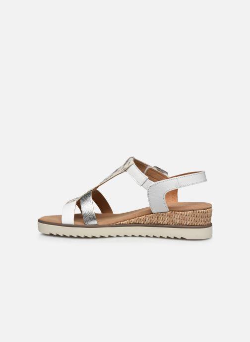 Sandales et nu-pieds Gabor SHIRAZE Blanc vue face