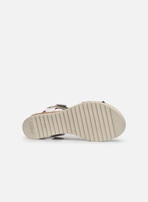 Sandales et nu-pieds Gabor SHIRAZE Blanc vue haut