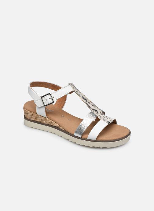 Sandales et nu-pieds Gabor SHIRAZE Blanc vue détail/paire