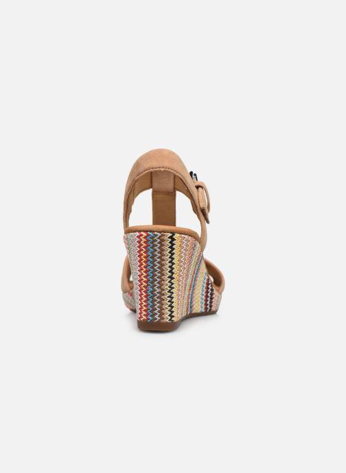 Sandali e scarpe aperte Gabor SOHEILA Beige immagine destra