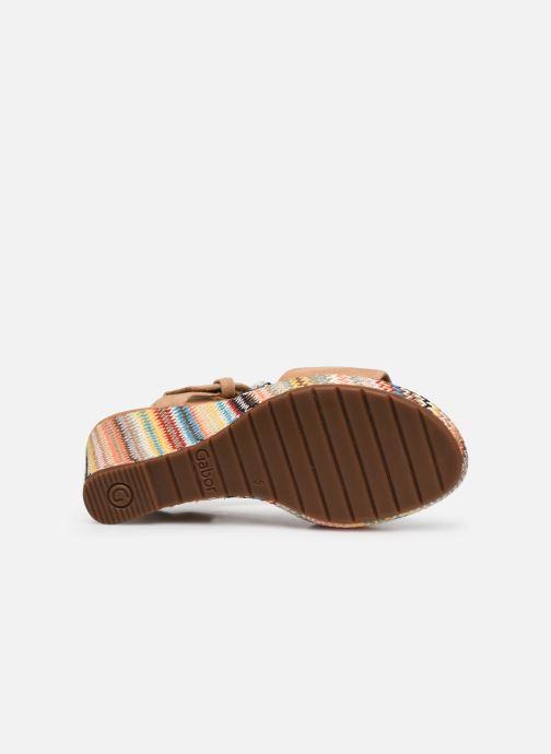 Sandali e scarpe aperte Gabor SOHEILA Beige immagine dall'alto