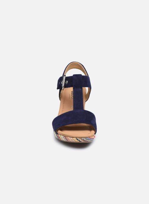 Sandali e scarpe aperte Gabor SOHEILA Nero modello indossato