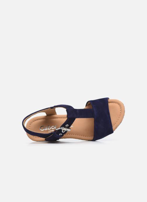 Sandali e scarpe aperte Gabor SOHEILA Nero immagine sinistra