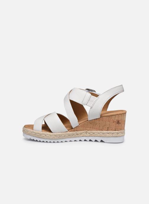 Sandales et nu-pieds Gabor DARA Blanc vue face