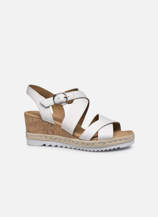 Sandales et nu-pieds Gabor DARA Blanc vue derrière