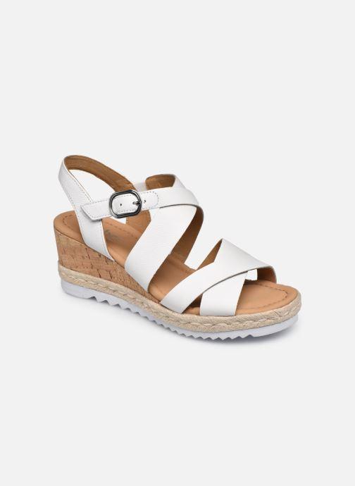 Sandales et nu-pieds Gabor DARA Blanc vue détail/paire