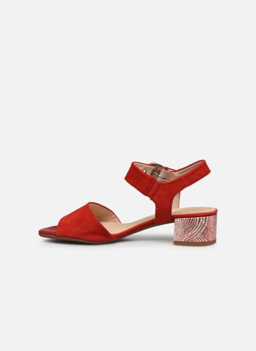 Sandales et nu-pieds Gabor MAHINE Rouge vue face