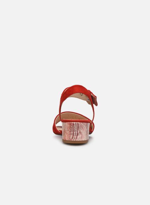 Sandales et nu-pieds Gabor MAHINE Rouge vue droite