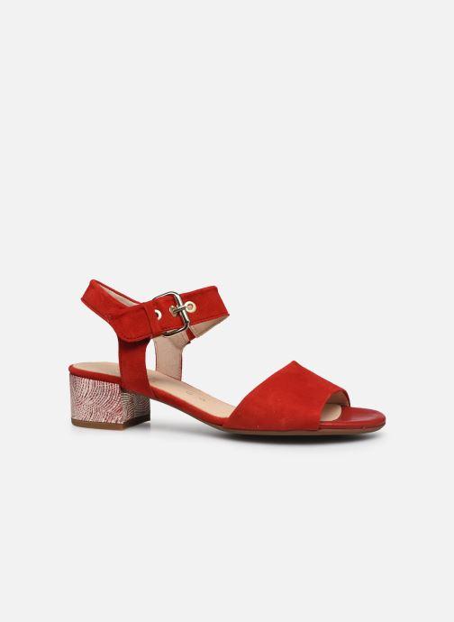 Sandales et nu-pieds Gabor MAHINE Rouge vue derrière