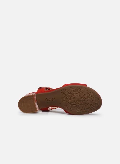 Sandalen Gabor MAHINE Rood boven