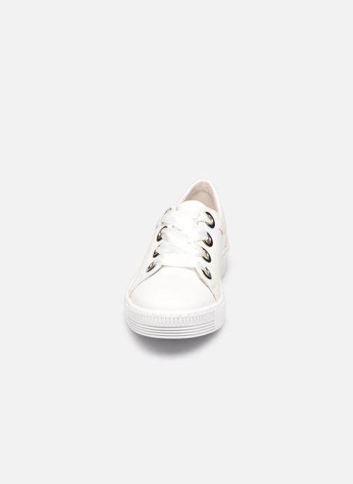 Baskets Gabor ZOYA Blanc vue portées chaussures