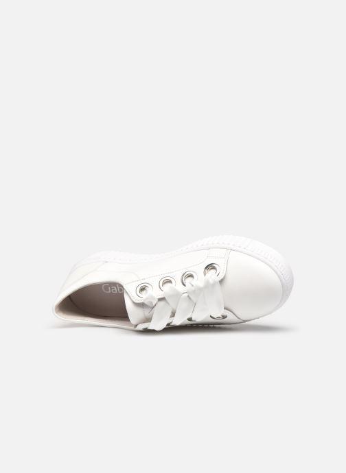 Sneakers Gabor ZOYA Bianco immagine sinistra