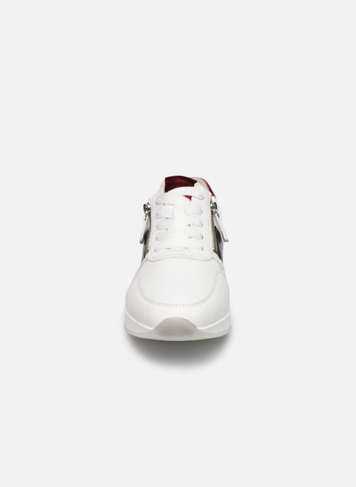 Baskets Gabor MAINA Blanc vue portées chaussures