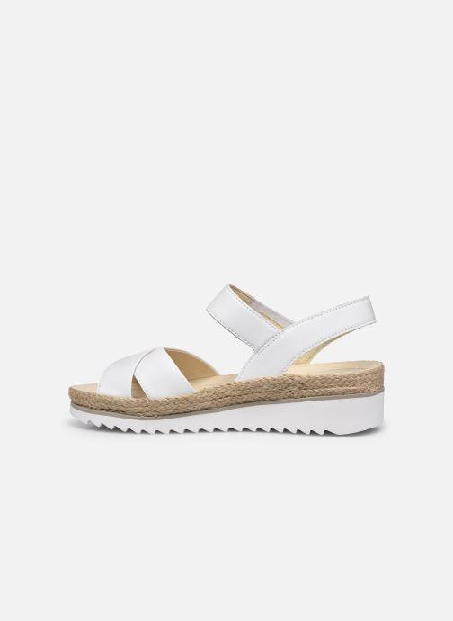 Sandales et nu-pieds Gabor MAONA Blanc vue face