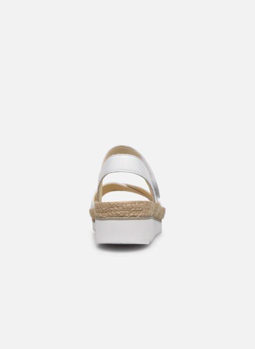 Sandales et nu-pieds Gabor MAONA Blanc vue droite