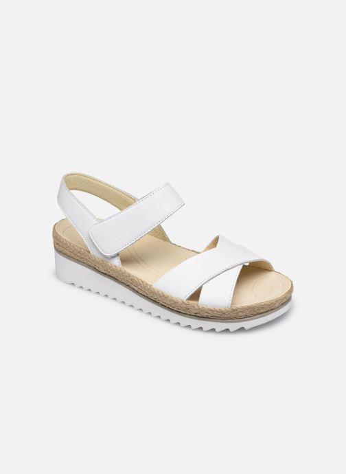 Sandales et nu-pieds Gabor MAONA Blanc vue détail/paire