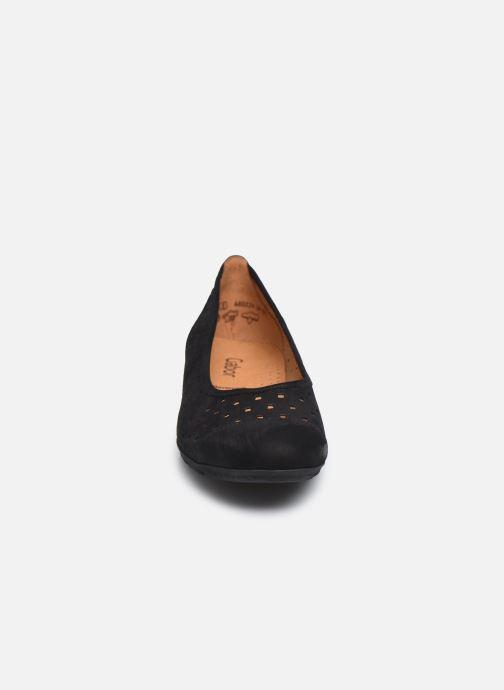 Ballerines Gabor VAEA Noir vue portées chaussures