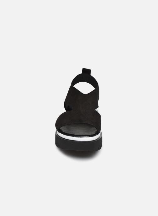 Sandales et nu-pieds Gabor HAINA Noir vue portées chaussures