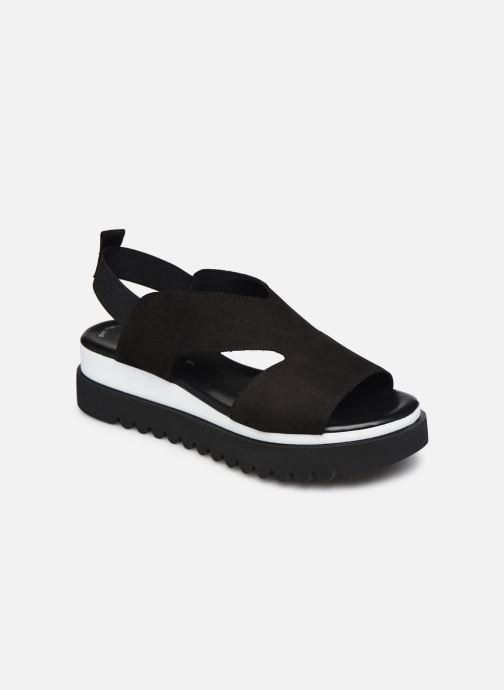 Sandales et nu-pieds Gabor HAINA Noir vue détail/paire