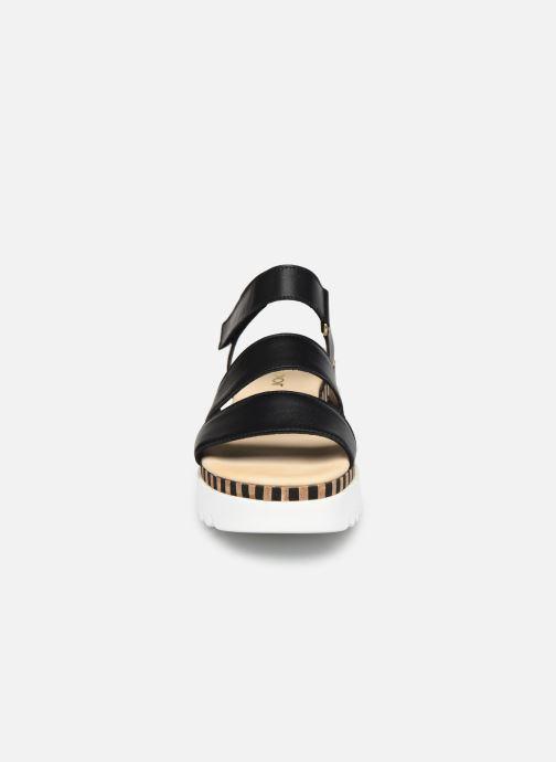 Sandalen Gabor IVA schwarz schuhe getragen