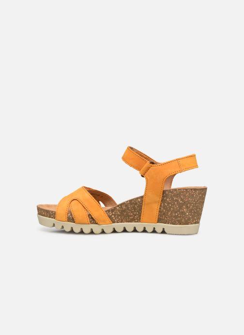 Sandales et nu-pieds Gabor MAIMA Orange vue face