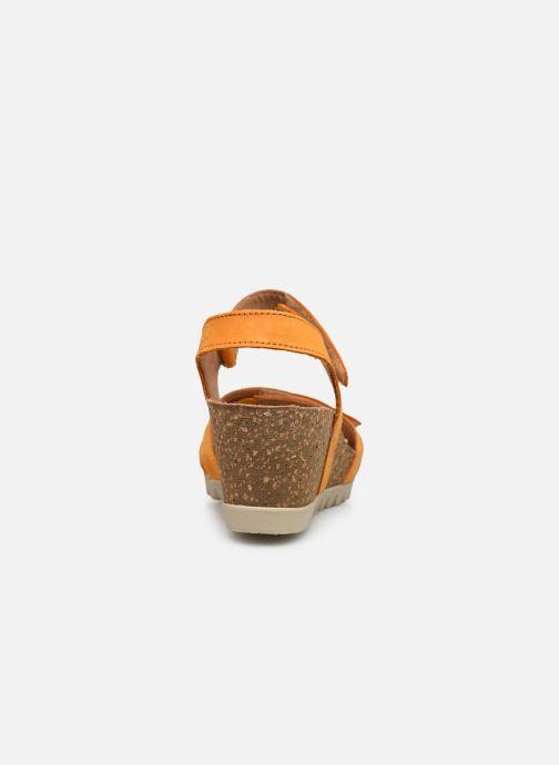 Sandales et nu-pieds Gabor MAIMA Orange vue droite