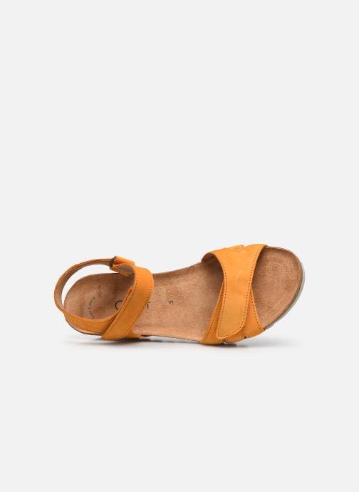 Sandales et nu-pieds Gabor MAIMA Orange vue gauche