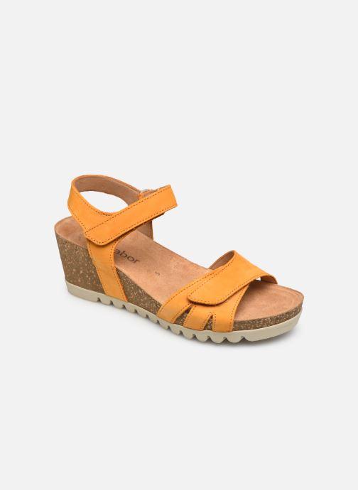 Sandales et nu-pieds Gabor MAIMA Orange vue détail/paire