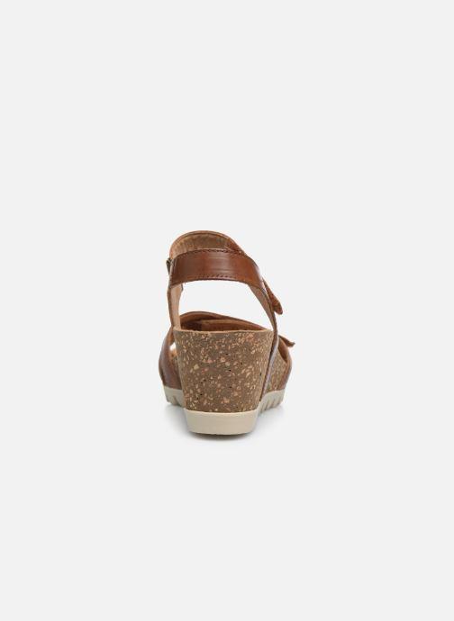 Sandales et nu-pieds Gabor MAIMA Marron vue droite