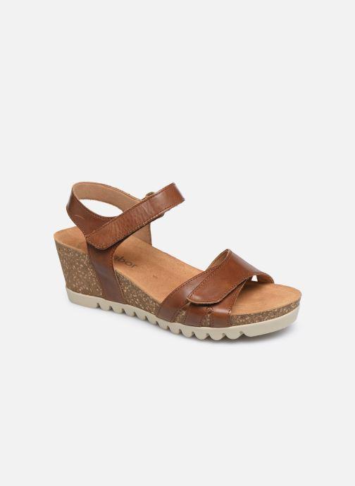 Sandales et nu-pieds Gabor MAIMA Marron vue détail/paire