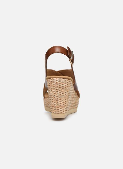 Sandales et nu-pieds Gabor ANKA Marron vue droite