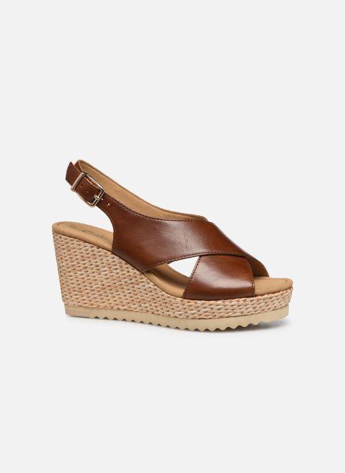Sandales et nu-pieds Gabor ANKA Marron vue derrière