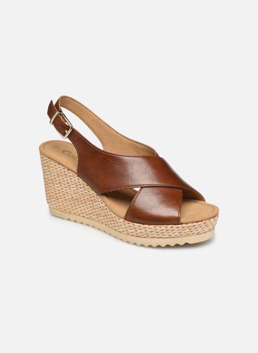 Sandales et nu-pieds Gabor ANKA Marron vue détail/paire