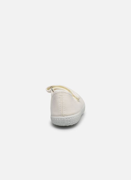 Baskets I Love Shoes BOSSA Blanc vue droite