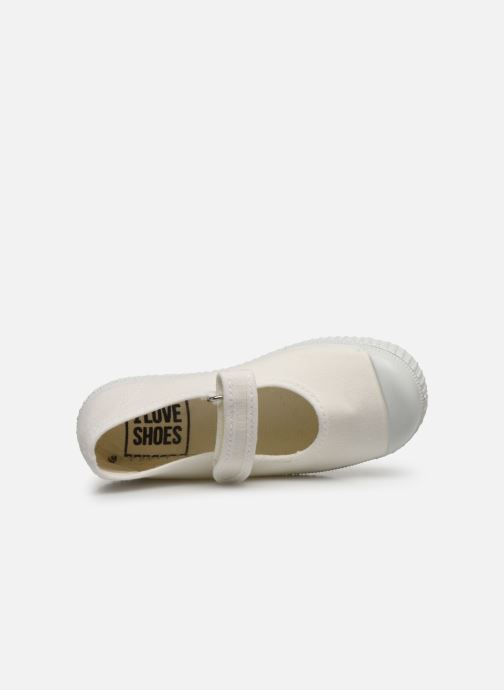Baskets I Love Shoes BOSSA Blanc vue gauche