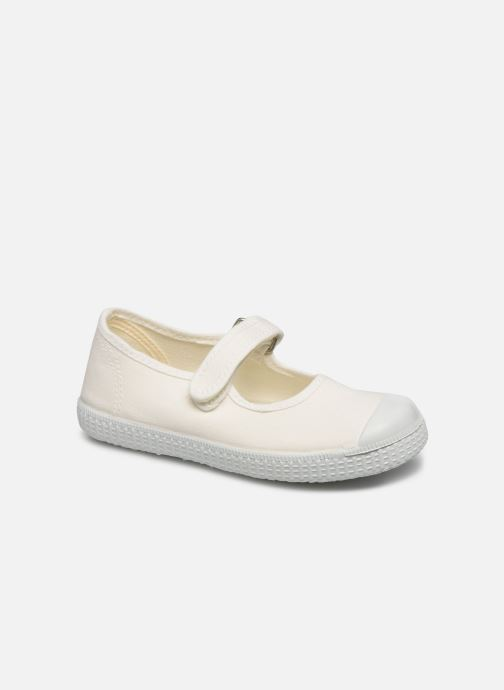 Baskets I Love Shoes BOSSA Blanc vue détail/paire