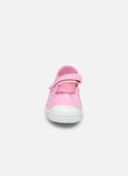 Baskets I Love Shoes BOSSA Rose vue portées chaussures