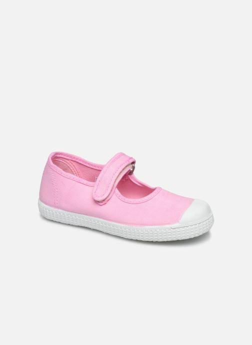 Baskets I Love Shoes BOSSA Rose vue détail/paire