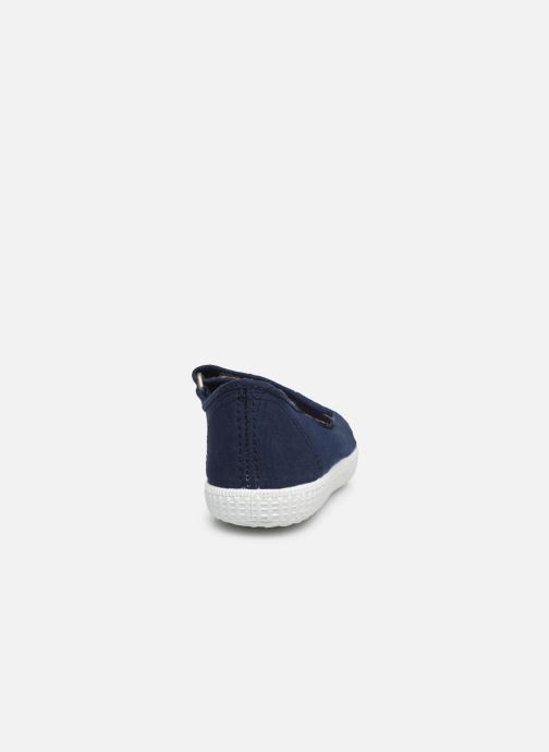 Baskets I Love Shoes BOSSA Bleu vue droite