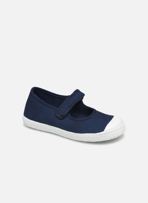 Baskets I Love Shoes BOSSA Bleu vue détail/paire