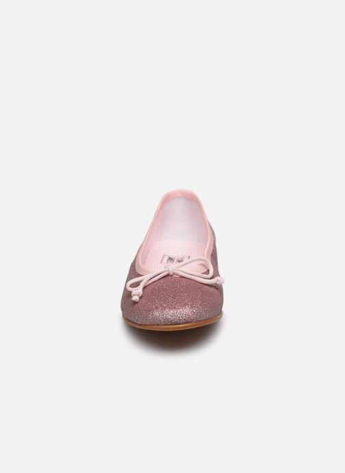 Bailarinas I Love Shoes BORELI GLITTER Rosa vista del modelo