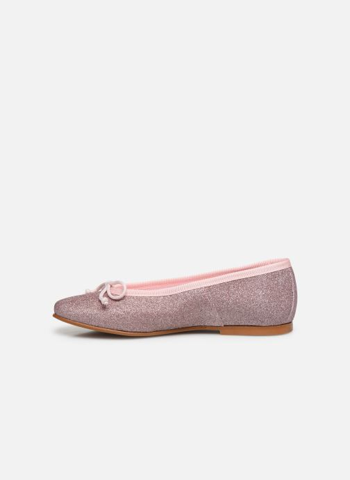 Ballerines I Love Shoes BORELI GLITTER Rose vue face