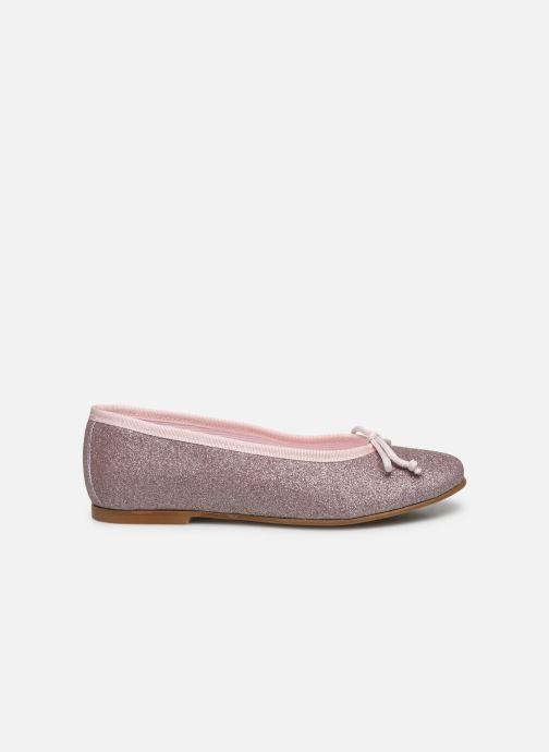 Ballerinaer I Love Shoes BORELI GLITTER Pink se bagfra