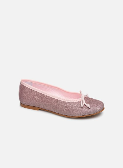 Bailarinas I Love Shoes BORELI GLITTER Rosa vista de detalle / par