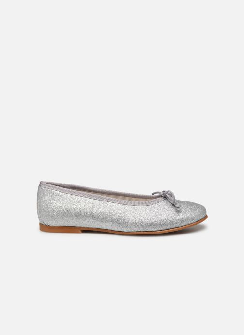 Bailarinas I Love Shoes BORELI GLITTER Plateado vistra trasera