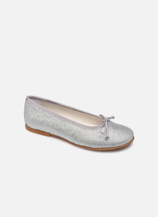 Ballerines I Love Shoes BORELI GLITTER Argent vue détail/paire