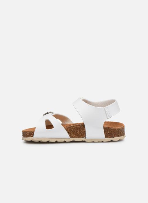 Sandales et nu-pieds I Love Shoes BORICIA Blanc vue face