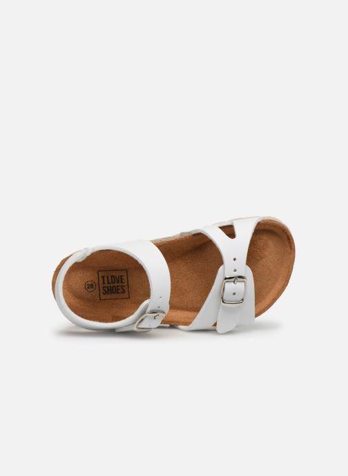Sandales et nu-pieds I Love Shoes BORICIA Blanc vue gauche